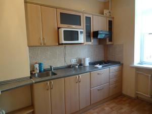 A kitchen or kitchenette at Rentday Apartments - Kiev