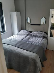 A bed or beds in a room at Zomerhuis Carolina