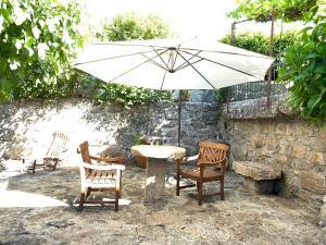 A porch or other outdoor area at Solar De Alarcao