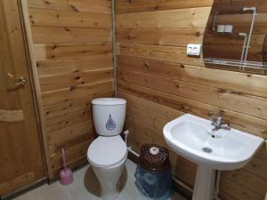 """Ванная комната в Пансионат """"Аллюр"""""""