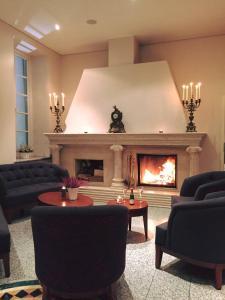 Et opholdsområde på Hotel Badehaus Goor