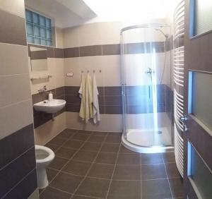 A bathroom at Penzion Panter
