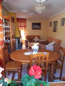 Lounge nebo bar v ubytování La estrella