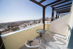 A balcony or terrace at Villa Stella