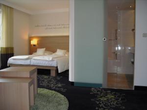 A bathroom at Hotel Robben