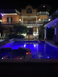 The swimming pool at or near Villa Lubomir