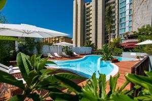 The swimming pool at or near Hi Hotel Bari