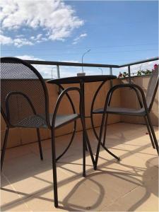 A balcony or terrace at Posadas de España Malaga