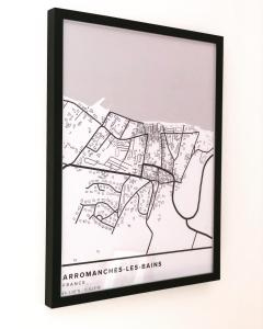 The floor plan of Joffre, superbe appartement à deux pas de la plage d'Arromanches
