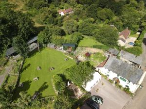 A bird's-eye view of The Mitre Inn