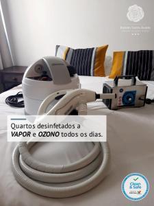 The fitness centre and/or fitness facilities at Rainha Santa Isabel - Óbidos History Hotel