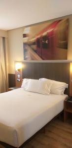 Cama o camas de una habitación en Maisonnave