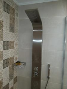 A bathroom at Amazing Apartments @ Monastiraki Subway Station