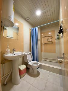A bathroom at Stolitsa