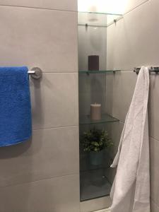 A bathroom at Твой дом у моря