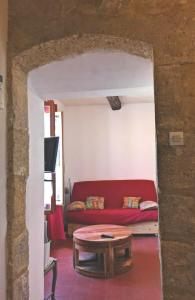 A seating area at La Colliassoise