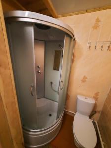 Ванная комната в Усадьба у Романа
