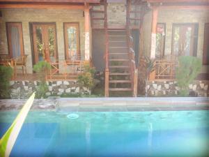 The swimming pool at or near Putra Bali Villa