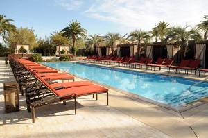 The swimming pool at or near M Resort Spa & Casino