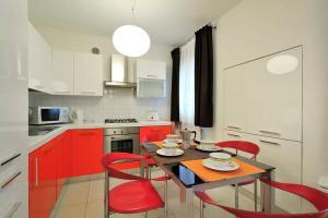 A cozinha ou cozinha compacta de Al Portico Guest House