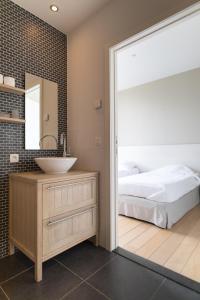 Een badkamer bij Het Rustpunt
