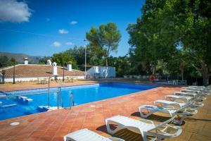 The swimming pool at or near Huerta de las Palomas