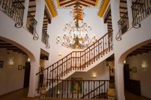 The lobby or reception area at Huerta de las Palomas