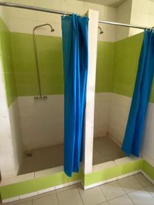 A bathroom at Хостел