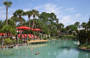 A piscina localizada em Wyndham Orlando Resort International Drive ou nos arredores