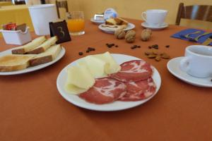 Colazione disponibile per gli ospiti di Hostel il Tetto