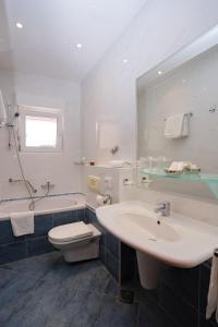 Et badeværelse på Hotel Neva
