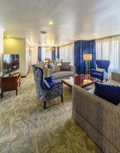 リッツ アパルト ホテルにあるシーティングエリア