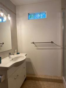A bathroom at Gîtes Perruchet