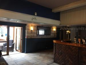 The lobby or reception area at The Bell Inn
