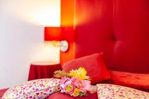 Letto o letti in una camera di Casa Vacanza Villa Aurora