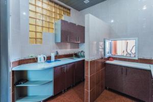 Кухня или мини-кухня в Гостиница Анжелика