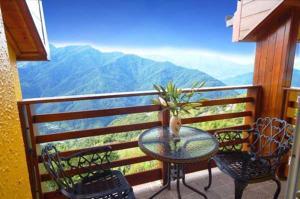 A balcony or terrace at Euro Country Villa