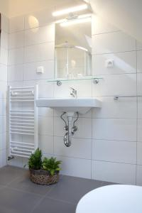 Koupelna v ubytování Penzion Na 15. Poledníku