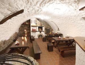 Restaurace v ubytování Penzion Na 15. Poledníku