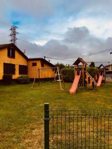 Children's play area at Hotel Maruja Nozana