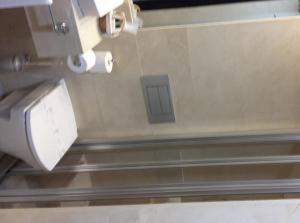 A bathroom at Hotel Don Felipe