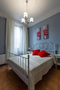 Cama o camas de una habitación en Casa Las Martinas