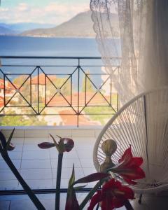 Μπαλκόνι ή βεράντα στο Sagini Boutique Hotel