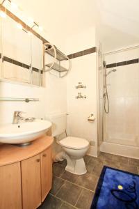Ein Badezimmer in der Unterkunft ferienwohnungen-bendler