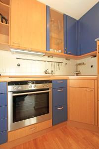Küche/Küchenzeile in der Unterkunft ferienwohnungen-bendler