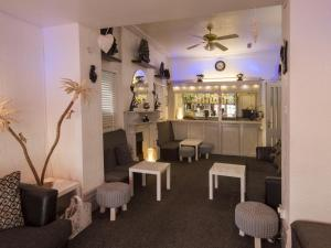 The lounge or bar area at The Marsden Hotel