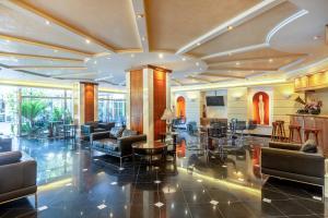 Εστιατόριο ή άλλο μέρος για φαγητό στο Oasis Hotel Apartments