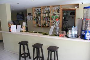 De lounge of bar bij Varandas de Albufeira