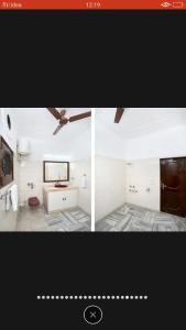 The floor plan of Peaceful villas