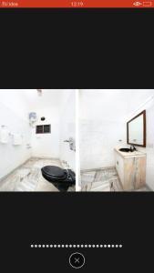 A bathroom at Peaceful villas